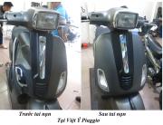 Sơn xe Piaggio Vespa giá rẻ nhất tại Hà Nội