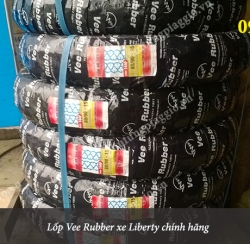 Lốp sau theo xe Liberty Việt (Lốp Vee Rubber)
