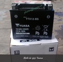 Bình ác quy xe Vespa S