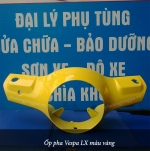Ốp pha Vespa LX màu vàng