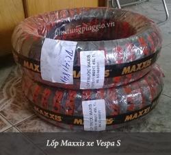 Lốp trước Maxxis theo xe Vespa S